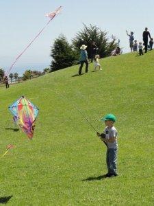 Fishing Pole Flyer at 2012 SB Kite Festival DSC02936